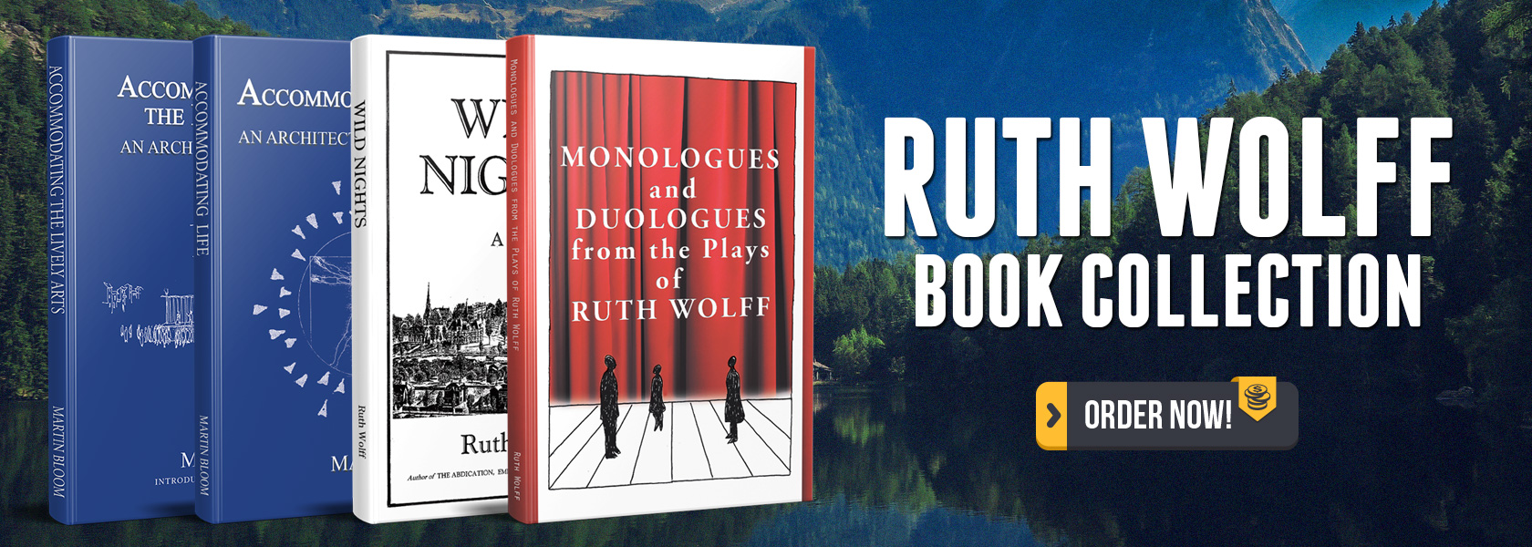 Ruth Wolff's Book Collection